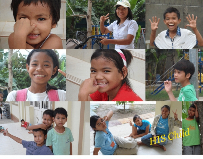 Our kids from Children Centre
